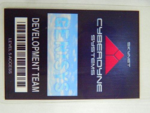 HALLOWEEN COSTUME MOVIE PROP - ID Security Badge Cyberdyne Systems/Skynet/Terminator Genisys