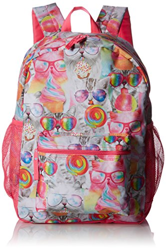 Backpack, Neon Berry, One Size