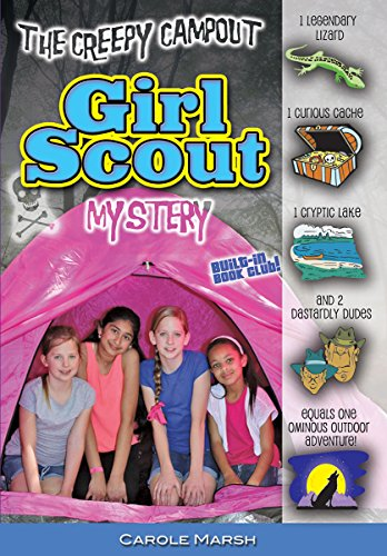 Books : The Creepy Campout Girl Scout Mystery (Girl Scout Mysteries)