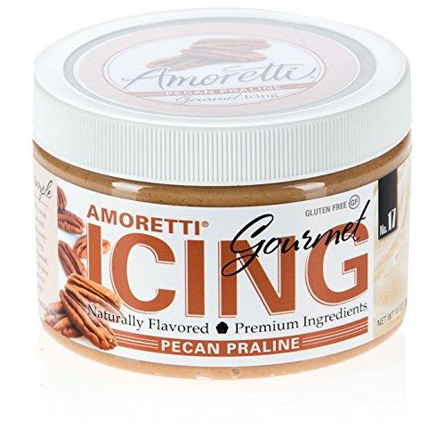 Amoretti Gourmet Icing, Pecan Praline, 10 ()