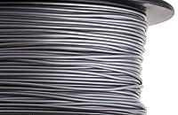 HATCHBOX 3D PLA-1KG1.75-SLV PLA 3D Printer Filament, Dimensional Accuracy +/- 0.05 mm, 1 kg Spool, 1.75 mm, Silver from HATCHBOX
