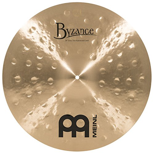 Meinl Cymbals B20ETHC Byzance 20-Inch Traditional Extra Thin Hammered Crash Cymbal (VIDEO) by Meinl Cymbals