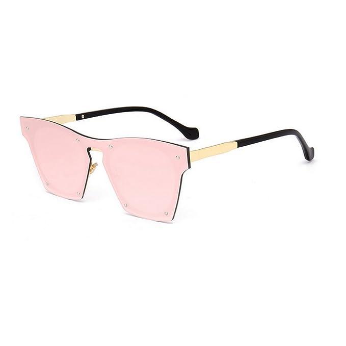 MINCL - Gafas de sol - para mujer rosa rosa: Amazon.es: Ropa ...