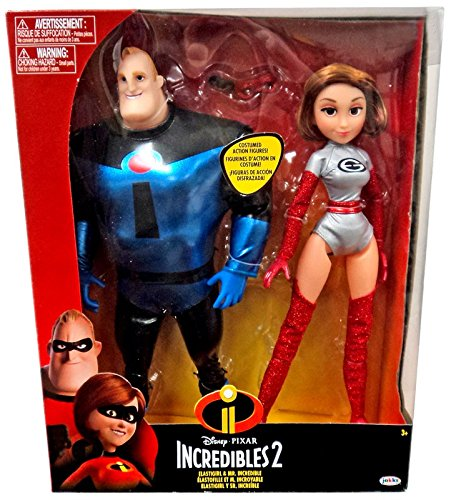 The Incredibles 2 Elastigirl & Mr. Incredible, 2 -