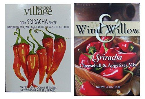 Sriracha Dip Duo - Chilled or Hot (Gourmet Du Village Dip)