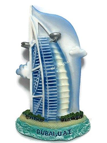 Dubai SOUVENIR RESIN 3D FRIDGE MAGNET SOUVENIR TOURIST GIFT 047 by Mr_air_thai_Magnet_World