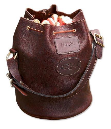 Orvis Sandanona Leather Shell Bucket