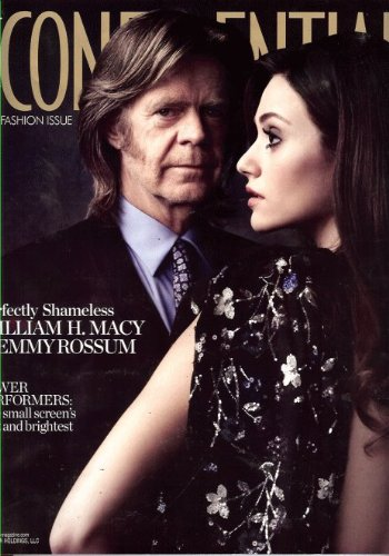 William Macy & Emmy Rossum Los Angeles Confidential September - Macys Angeles Los