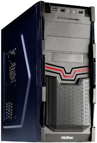 Hiditec Thor SSD BRAKET - Caja de Ordenador de sobremesa (3.5 mm, 2 x USB 2.0), Negro: Amazon.es: Informática
