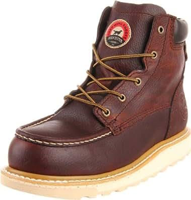 "Irish Setter Men's 83606 6"" Aluminum Toe Work Boot,Brown,11.5 EE US"