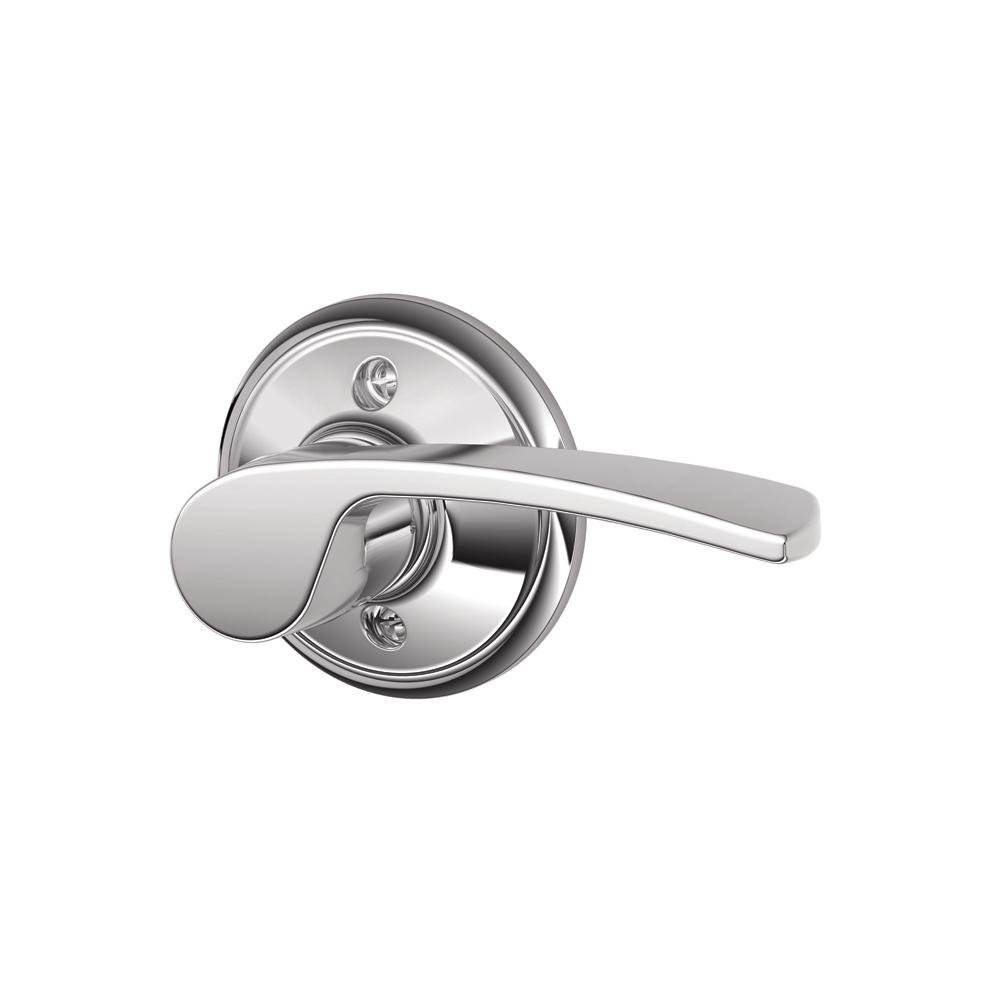 FA170MER622RH Schlage  Merano Right Handed Lever Non-Turning Lock F170 MER 622 RH Matte Black