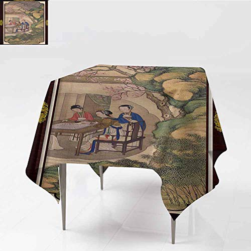 Fabric Tablecloths for KitchenBANGKOK, THAILAND JUNE 25, 2016 A stamp printed in Japan shows shellfish alignment picture, series International Latter Writing Week , circa 1995,W50
