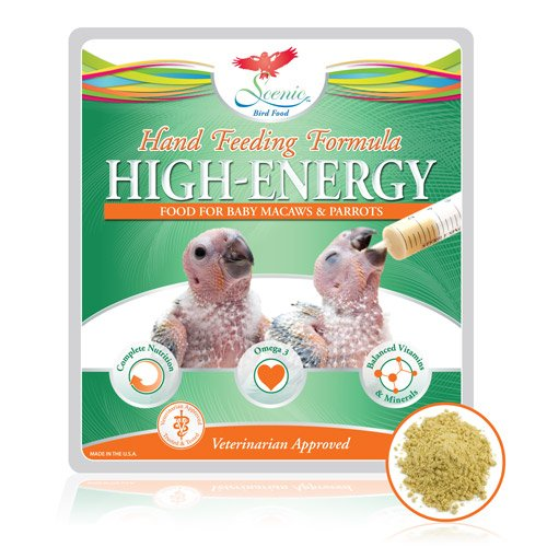 Scenic High Energy Hand Feeding Formula for Baby Macaws & Parrots