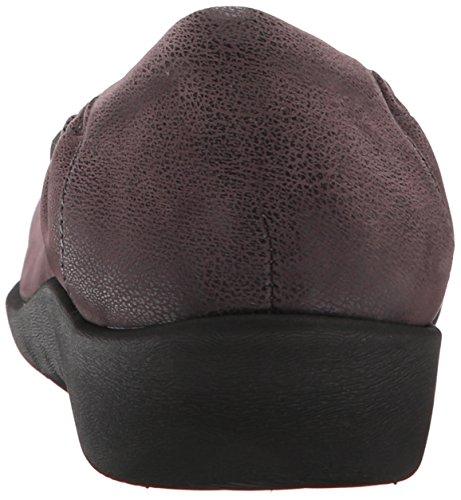 Jetay Púrpura gris de Sillian soporte Clarks cloudsteppers mujer qxpwtYp4O