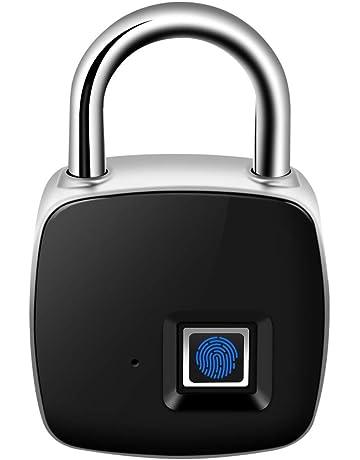 Cerradura de Puerta electrónica Reconocimiento de Huellas Dactilares Inteligente Sin Llave Impermeable Seguridad Seguridad Candado antirrobo