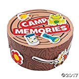 Set of 12 Camp Adventure Memory Craft Box Project Kits ~ Great Memory Keeper!