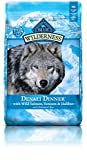 BLUE Wilderness Grain Free Denali Dinner with Wild Salmon, Venison & Halibut Dry Dog Food 22-lb