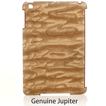 amazon man wood ipad miniケース real wood genuine jupiter 天然木