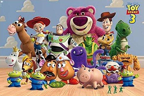 Toy Story 3 - Disney / Pixar Movie Poster / Print