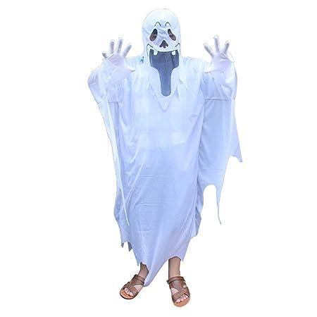 Disfraz De Fantasma De Halloween Capucha Con Capucha Para Niños ...