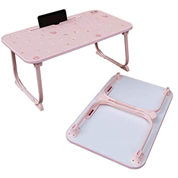 Mesa de Cama Ajustable Cama Mesa Plegable_Lazy Table Bed Cama ...