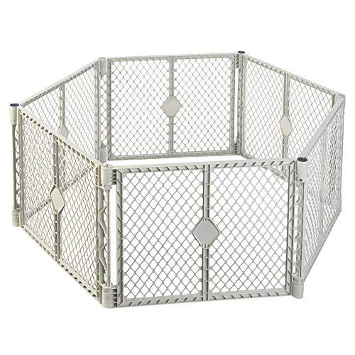 North States SUPERYARD XT Baby/Pet Gate & Play Yard (Yard Dog Play Design)
