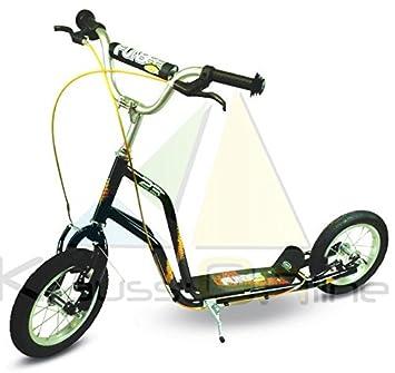 Patinete en aluminio - 2 rueda 10 pulgadas hinchables de ...