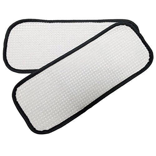 2PK Washable Steam Mop Pads to fit Eureka Enviro 60978