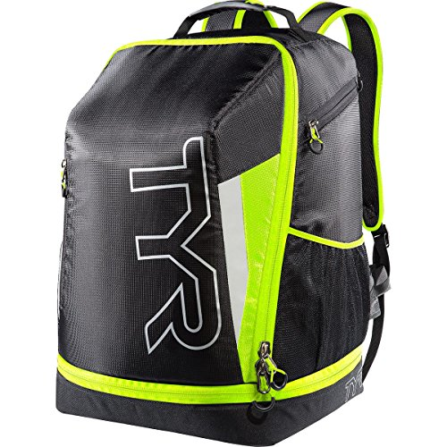 TYR Apex Transition Bag, Black/Full Yellow, - Apex List