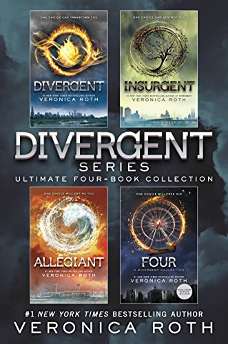 Divergent Series Ultimate Four-Book Collection: Divergent; Insurgent; Allegiant; Four (Kindle Divergent Ebook)