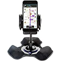 Car / Truck Vehicle Holder Mounting System for Apple iPhone 6 Includes Unique Flexible Windshield Suction and Universal Dashboard Mount Options