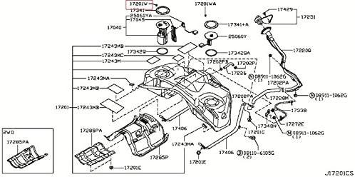 Amazon.com: Infiniti Genuine Fuel & Engine Control Fuel Tank Screw  01436-01821 QX70/FX QX50/EX QX4 Q60/G COUPE Q60/G CONVERTIB Q50 M37/56  M35/45 M HYBR I30 G35/37/25 SEDAN G35 G20 FX45/35 30/I35: AutomotiveAmazon.com