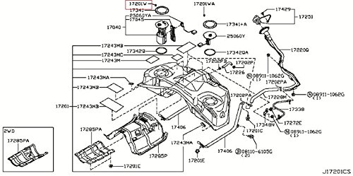 amazon com infiniti genuine fuel \u0026 engine control fuel tank screw Infiniti G35 Fuse Diagram