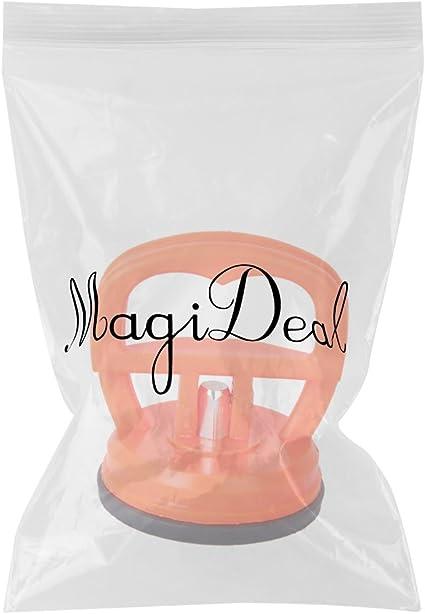 Orange Rot Saugnapf Saugpolster Dent Puller Entferner Glas Tragegriff Heber