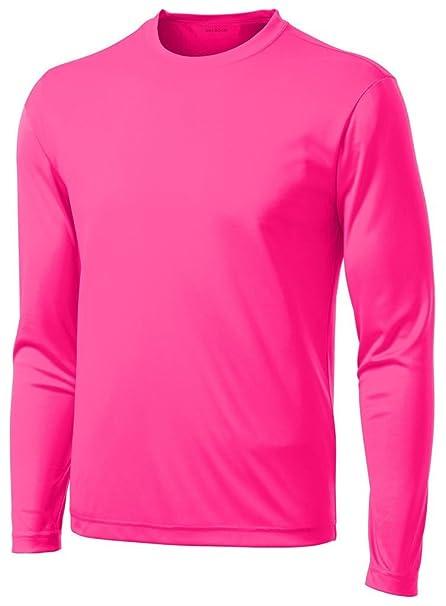 64b5c077 Amazon.com: DRI-Equip Long Sleeve Moisture Wicking Athletic Shirts: Clothing