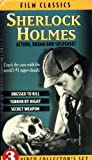 Sherlock Holmes 3 Video Collectors Set: DRESSED TO KILL, TERROR, SECRET [VHS]