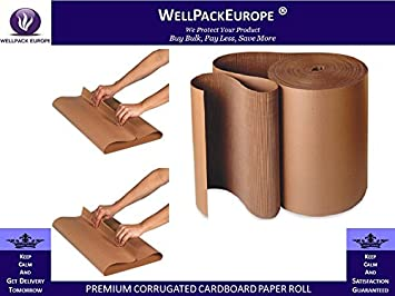 STRONG CORRUGATED CARDBOARD PAPER ROLLS MULTI LISTING