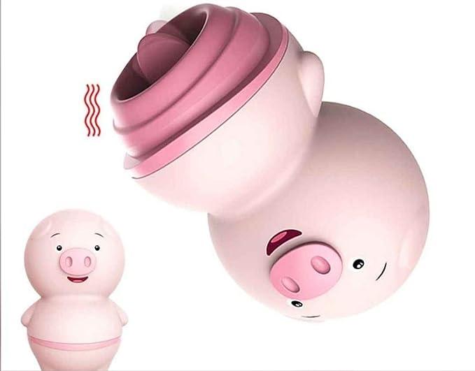 Brinquedo Vibrador Porquinho- Lingua