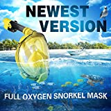 WSTOO Full Face Snorkel Mask,Advanced Safety