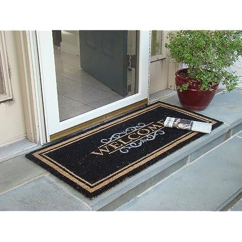 Monogrammed Door Mats: Amazon.com