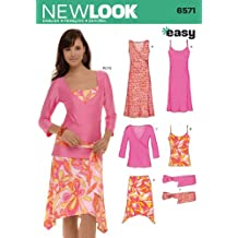 New Look Sewing Pattern 6571 Misses Separates, Size A (8-10-12-14-16-18)