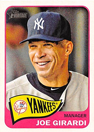 Joe Girardi Baseball Card New York Yankees World Series