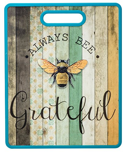 Boston Warehouse 27054 Always Bee Grateful Cutting Board