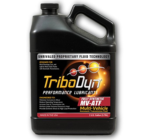 TriboDyn Multi Vehicle ATF Synthetic Automatic Transmission Fluid 1 Gallon - Reduces Operating Temperatures and Clutch Drag