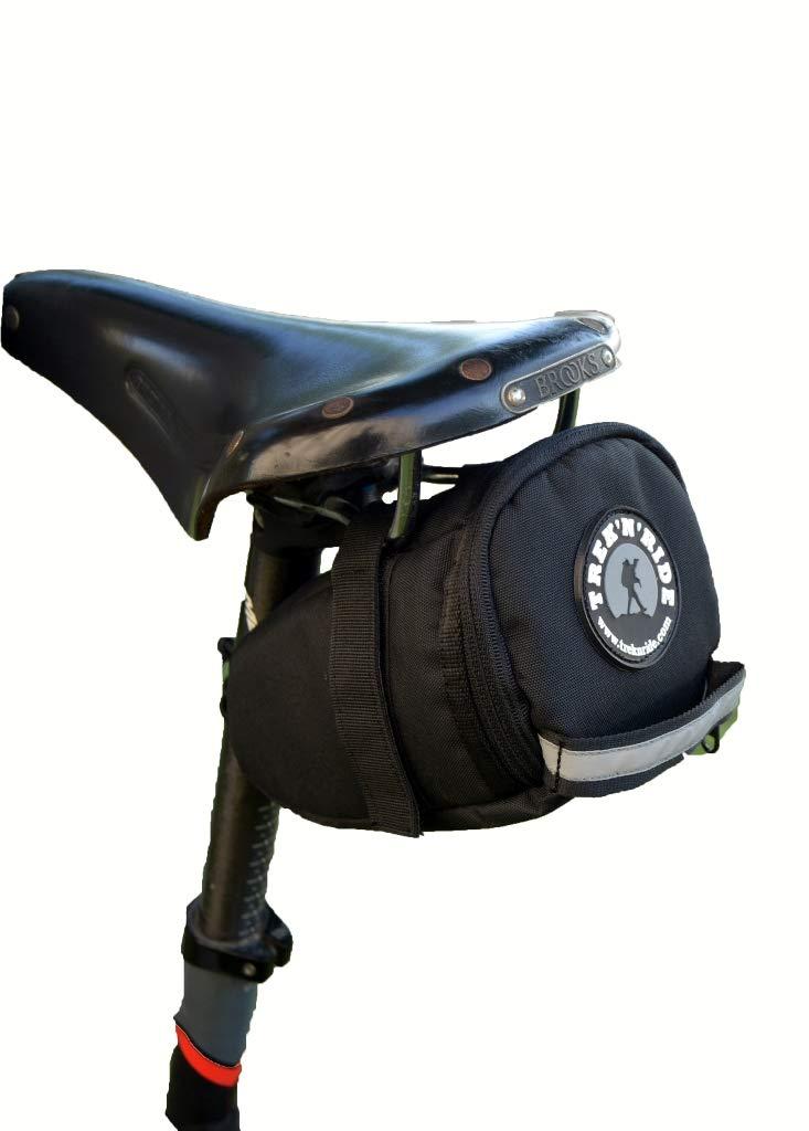 TREK 'N' RIDE Cycle Saddle Bag, seat Post Bag for Road Bike,Hybrid and MTB