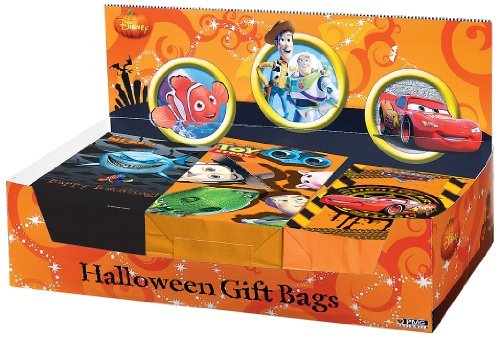 Paper Magic Group Disney/Pixar Paper Gift Bag Display Assortment, Pack of 300 -