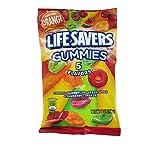 SCS Lifesavers Five Flavor Gummy - 7 oz. Bag - 12 ct.