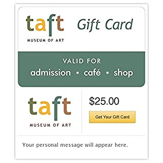 Taft Museum of Art Gift Cards - E-mail Delivery (B00MV9IACI) | Amazon Products