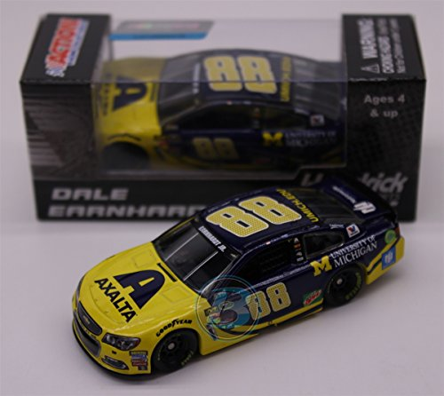 NASCAR Dale Earnhardt Jr. #88 Axalta University of Michigan 1/64 Kids Hardtop Car 2016