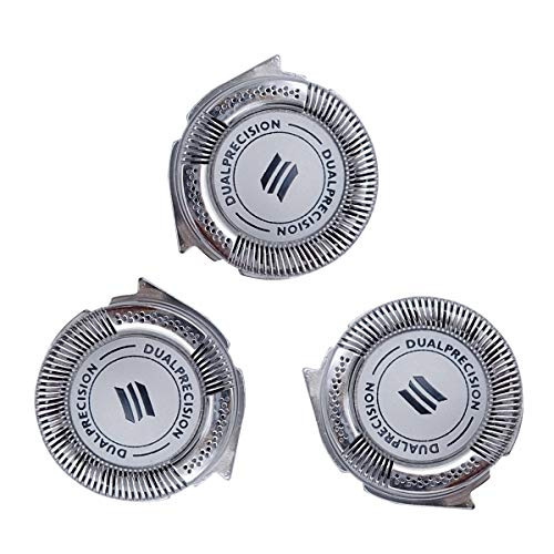 Shaver Razor Head Replacement for Philips Norelco HQ8 DualPrecision Head(3pcs)